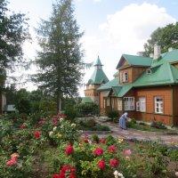 монастырский двор :: Елена