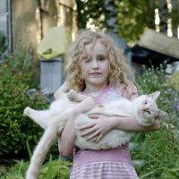 Девочка и кот :: Андрей Чернышов
