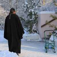 Пред  порогом  Вселенского Храма . :: Валерия  Полещикова