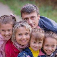 Многодетная и дружная семья! :: Даниил Карпов