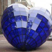 Делфт. Голубое сердце (Het blauwe hart)-символ самого себя... :: Елена Павлова (Смолова)