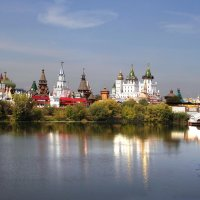 Вид на Измайловский Кремль. :: lady-viola2014 -