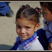Лица Индии.Школьница. :: Михаил Рогожин