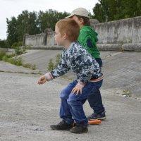 дети на набережной :: Вика Азарова