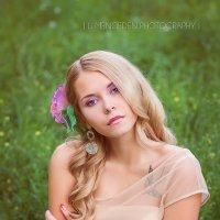 "фотопроект ""девушки-цветы"" - ирис :: li mengeden"