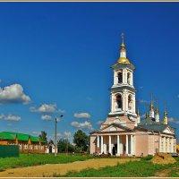Церковь Вознесения Господня в Кимрах, 1813 :: Дмитрий Анцыферов