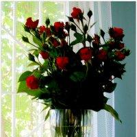 Букет роз на даче... :: Тамара (st.tamara)