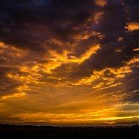 Небесный пожар :: Дмитрий Тарарин