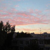 Розовые облака :: Галина
