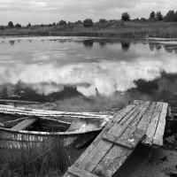 Река, лодка :: Мария Комарова