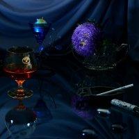 Ночь, коньяк и сигарета... :: Наталия Лыкова