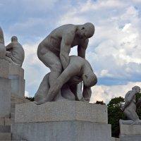 Парк Вигелана в Осло :: Николаева Наталья