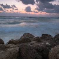Закат на Средиземном море :: Witalij Loewin