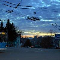 Вечер в проводах :: Геннадий Храмцов