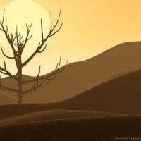 пустыня :: Дмитрий Барабанщиков