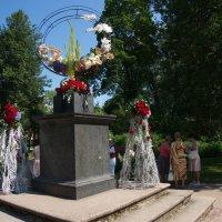 на пъедестале цветы :: Валентина Папилова