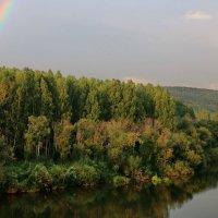 После дождя, река Чусовая. :: Пётр Сесекин