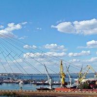 вид на Одесский залив с Воронцовской колоннады :: Александр Корчемный