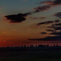 Закат в начале осени. 02. :: Анатолий Клепешнёв