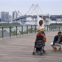 Прогулка  (Япония, Токио, район Одайбо) :: Олег Неугодников
