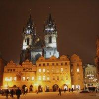 Прага ночью :: Никита Иванов