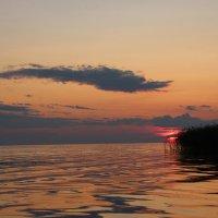 Вечером на озере. :: Галина .