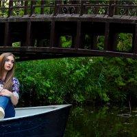В лодке :: Ирина Латышева