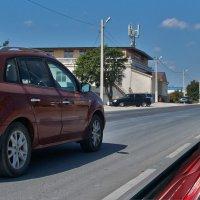 белый юмор на красное авто :: Валерий Дворников