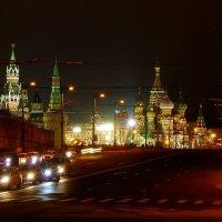 Москворецкий мост и Храм Василия Блаженного :: Igor Khmelev
