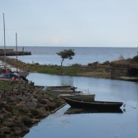 впадение реки в море :: Елена