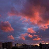 Пылающие облака :: Геннадий Кудинов