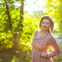 once on a sunny day :: Nika Nitkina