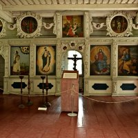 Иконы с деревянного резного иконостаса церкови во имя Апостола Петра. :: Маry ...