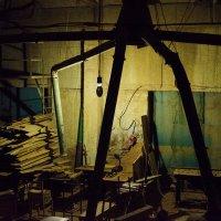 Марсианин в столярном цеху :: Oleg Khot