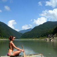 девушка с веслом :: Dr Solar