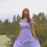 лесная девушка :: Юлия Лукомец