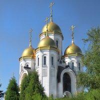 Церковь на Мамаевом кургане :: Оксана Мельникова