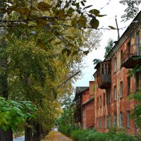 Осень на моей улице. :: Владимир Михайлович Дадочкин