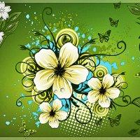 Цветочная полянка :: Юлия Z