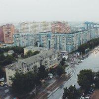 мкрн Горский, туман и 16ый этаж :: Александра Юдина