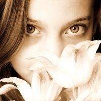 Эти глаза.... :: Марина