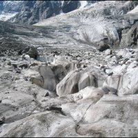 Ледник Мижирги. :: Ирина Нафаня