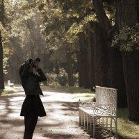 В парке... :: Ирина Елагина