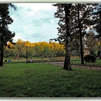Юсуповский сад. :: Александр Лейкум