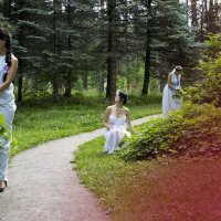 Лесные нимфы :: Анастасия Ульянова