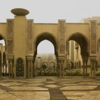 около мечети Хасана 2 :: Светлана marokkanka