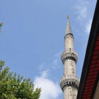 Минарет Голубой мечети (Инстамбул) :: tet