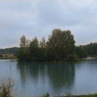 озеро в пасмурную погоду :: Руслан Веселов