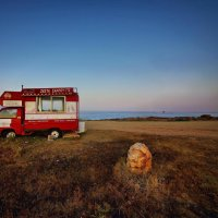 красный фургон :: Марат Валеев