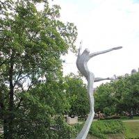 Памятник Мариусу Лиепе в Риге :: Борис Гребенщиков